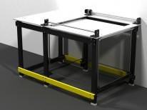 Nosný stôl pre CNC rézu