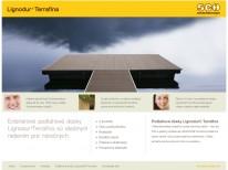 Podlahové dosky Lignodur® Terrafina